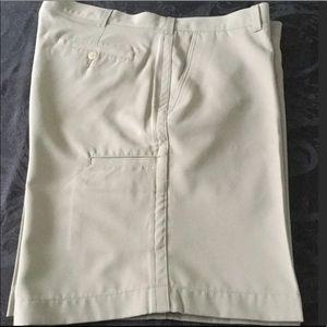 PGATour Golf Shorts Tan 38 NWOT